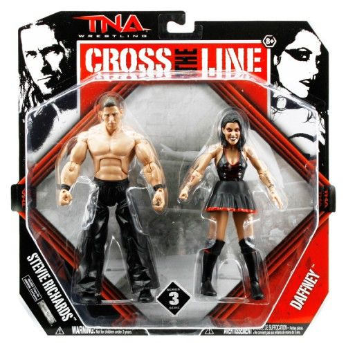 HighSpots.com TNA Series 3 Figures: Daffney & Stevie Richards