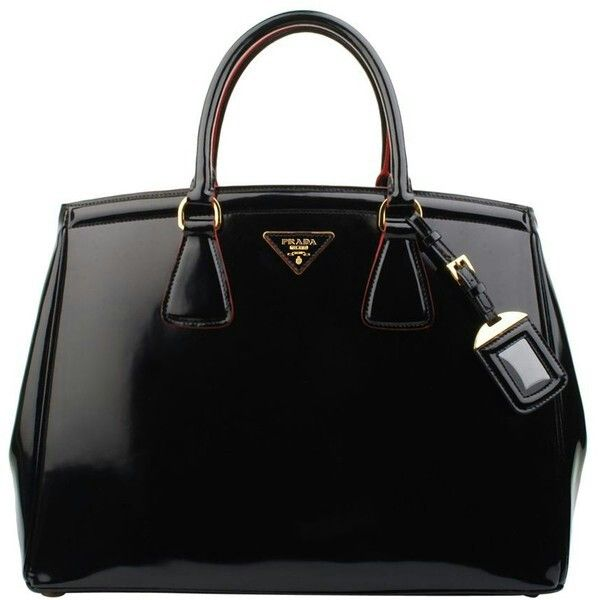 A classic black purse by Prada!