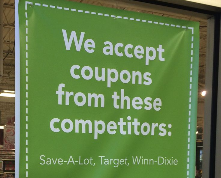 PUBLIX COMPETITORS MASTER LIST {organized by individual store location} via @truecouponing