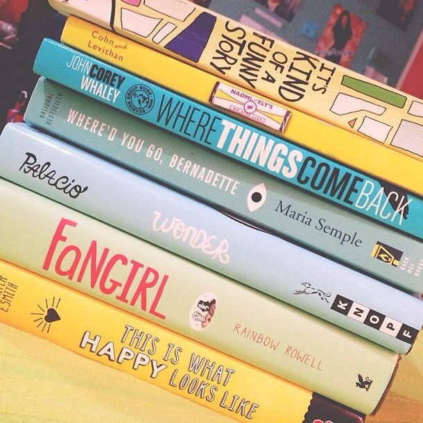 I have read and absolutely loved every single one of those books! AMAZING!