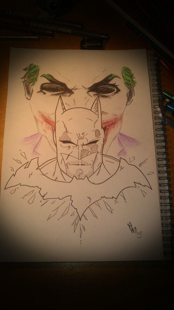 Flaming art tattoo for geek tattoo lovers this kind of batman - My Batman And Joker Design Jokerstattoo Designsbatmannerdy