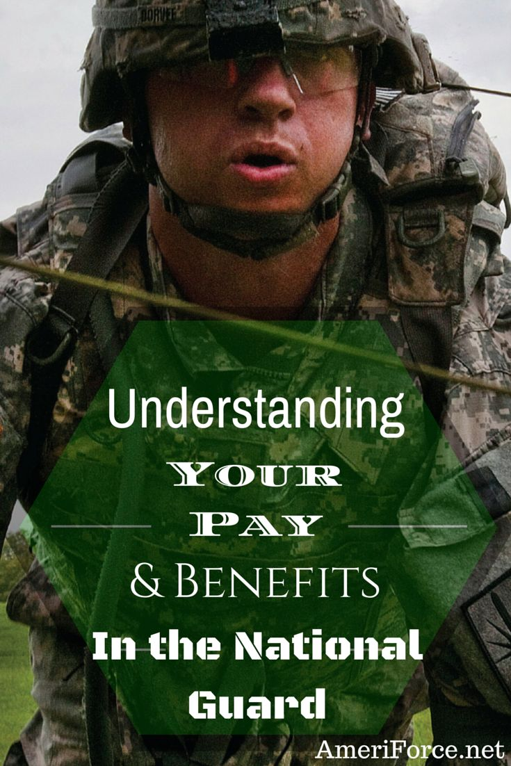 Understanding Your Pay and Benefits in the National Guard