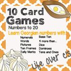 Students will love learning all about number sense in the Georgian language for numbers 0-20 with these 10 card games. They will learn to recognize... lifeovercs.com