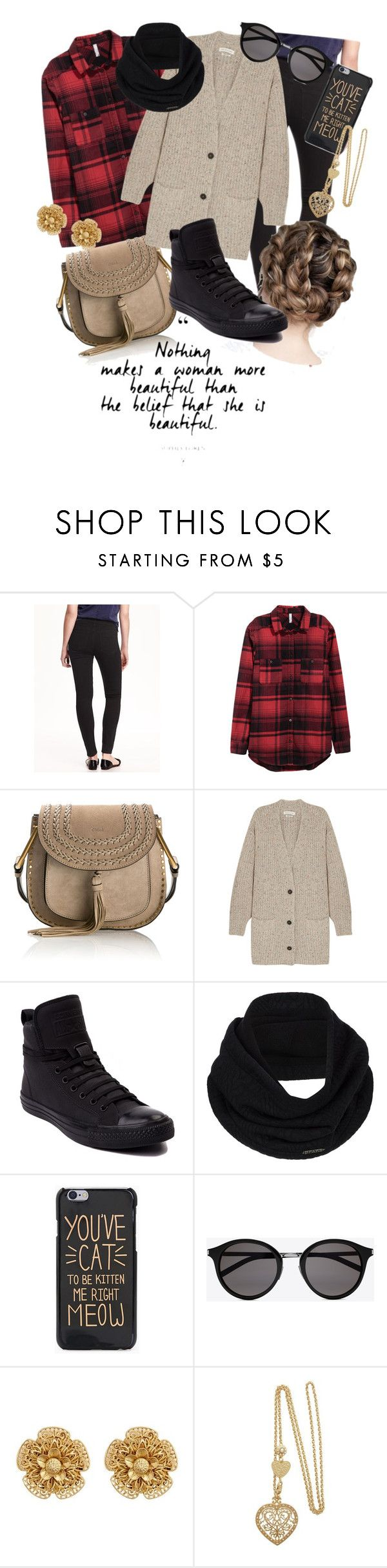 """Fall-in-Love with Cozies"" by fashion-mama-aquarius on Polyvore featuring Chloé, Étoile Isabel Marant, Converse, prAna, Yves Saint Laurent and Miriam Haskell"