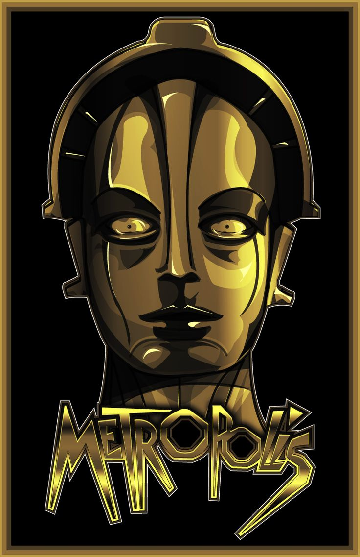 Metropolis is a 1927 German expressionist epic science-fiction film directed by Fritz Lang. The film was written by Lang and his wife Thea Von Harbou, ...