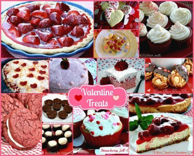 Mommy's Kitchen - Valentines Day Recipe Round Up. #valentinesday