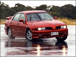 Mitsubishi Magna - The first car I owned!