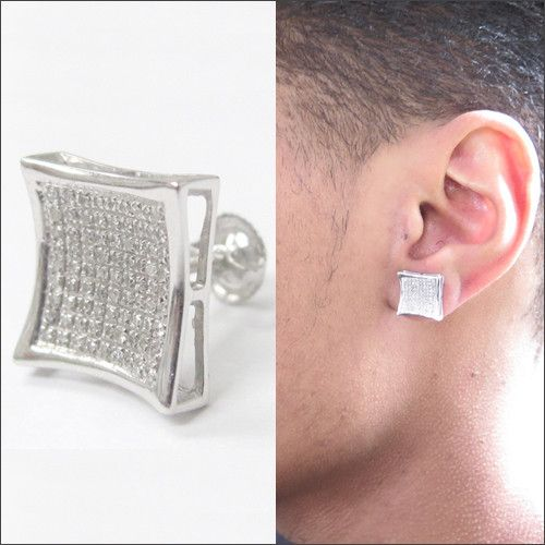 Lovely Large Square Diamond Earrings Check More At Http Lascrer