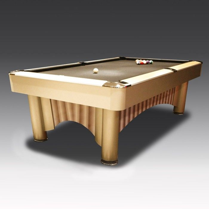 8ft Apollo American Pool Table | The Games Room Company. A pool table inspired by the quirky styles of the 1960s, this unique design gives it extra durability so it lasts for generations