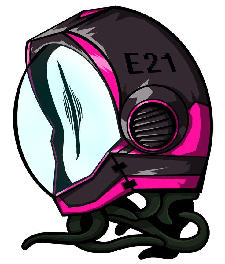 Extraterrestrial eye. #eye #ufo #ovni #tentacle #helmet #ovni #extraterrestre #illustration #ilustracion