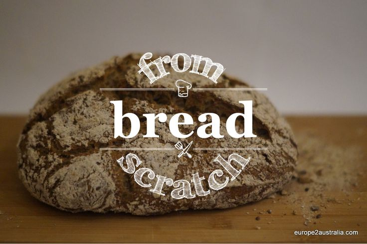 Recipe: sourdough bread. It is amazingly easy to make your own bread