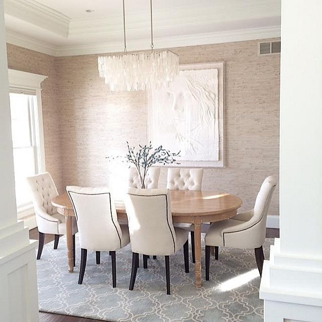Dining Room Wallpaper Is Seabrook Natural Resourceu2026