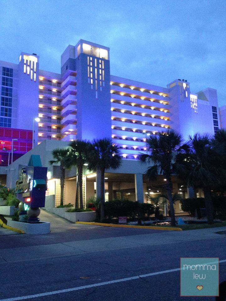 The Crown Reef Resort in Myrtle Beach. See you in a few days.  Even if its just for a day I'm beyond ready to go