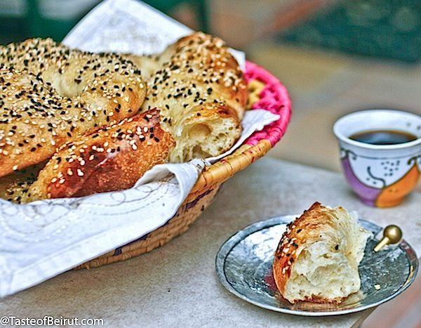 Iraqi sweet rolls (Shubbak el-habayeb)