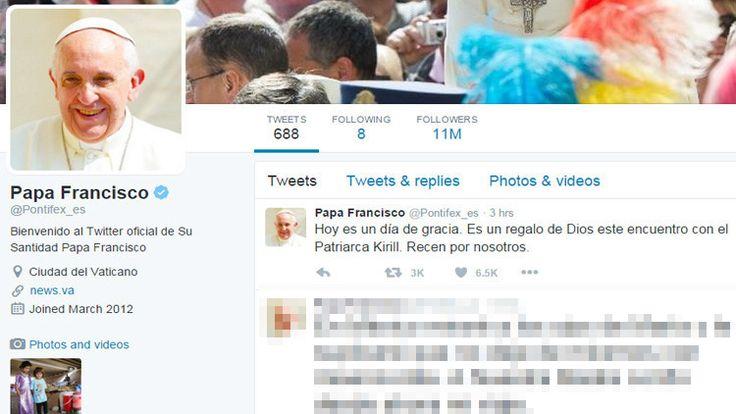 """El papa Francisco calificó su histórico encuentro con el patriarca ortodoxo ruso Kiril de """"regalo de Dios""""."""