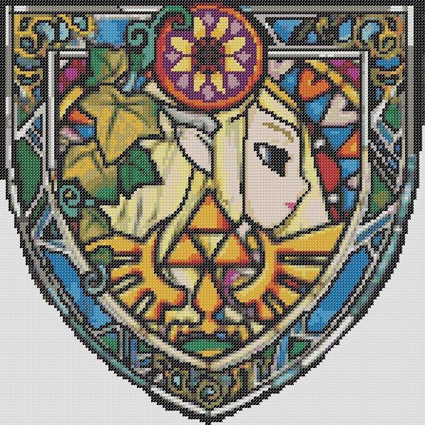Zelda cross stitch pattern! w00t!!