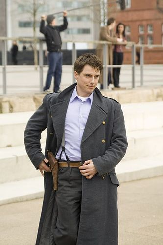 Capt. Jack Harkness - yes I know he has slept with every living creature in the universe...he's just nice to look at!