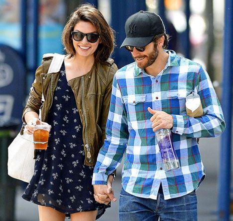 """Jake Gyllenhaal's Girlfriend Alyssa Miller: """"Things Are Good"""" - Us Weekly"""