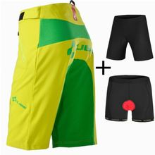 US $28.04 Saenshing new Cube Shorts men Cycling Downhill MTB Bicycle Shorts 3D Pad Underwear Cube Cycling Shorts mountain Bike Short Pants. Aliexpress product