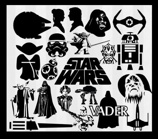 best 25+ star wars logo vector ideas on pinterest | logo star wars