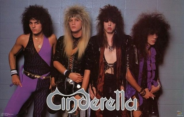 Image result for cinderella band 80s