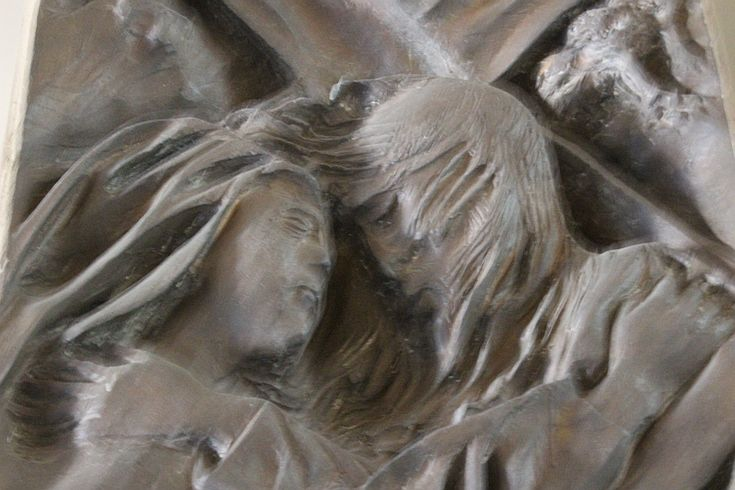 Chiesa di Santa Barbara, Via Crucis di Pericle Fazzini
