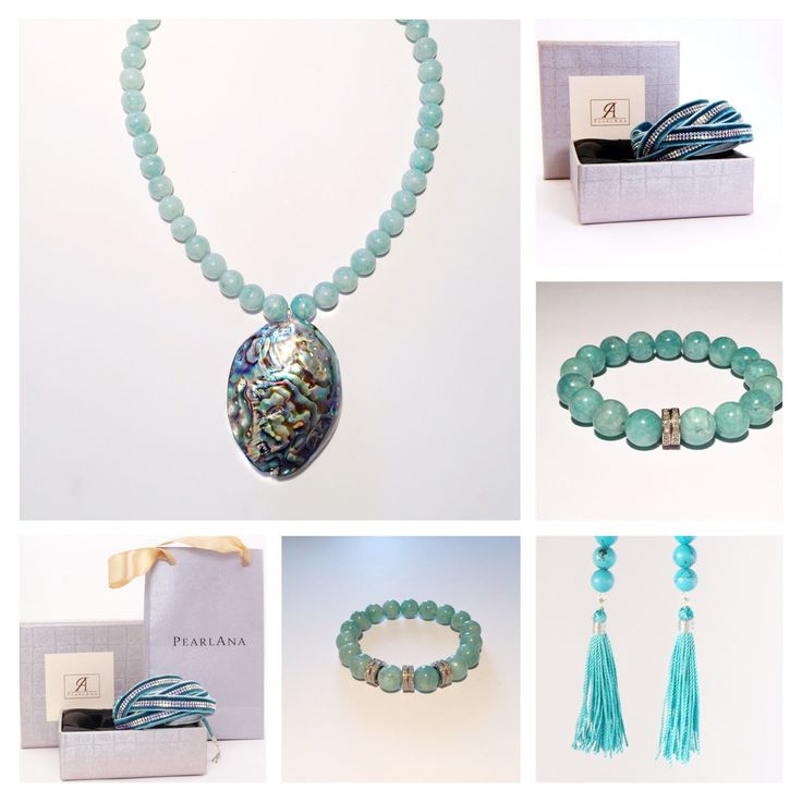 All in turquoise!