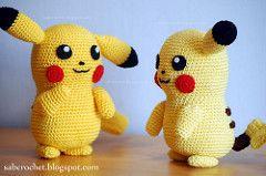 Pikachu (sabrinapina) Tags: pattern crochet pikachu pokemon amigurumi