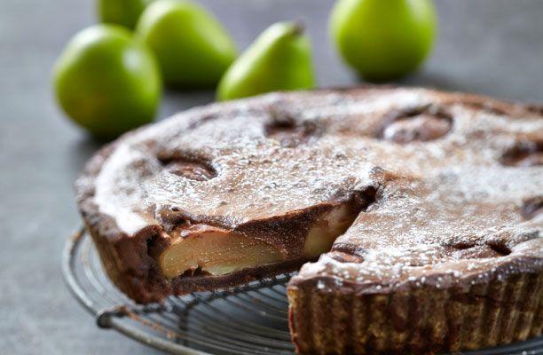 Forkæl dine nærmeste med en lækker pæretærte