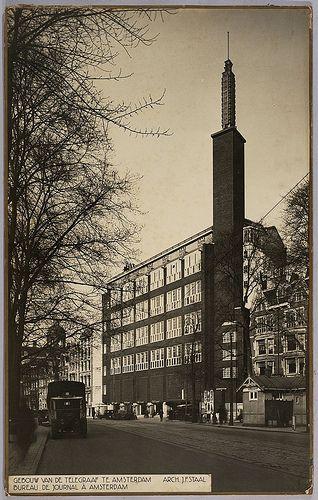 De Telegraaf Building, Amsterdam (1930) JF Staal