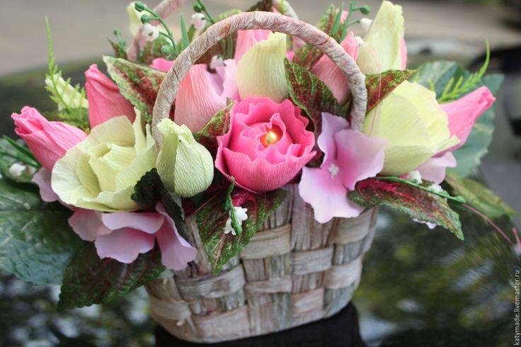 Купить Розовые розы..........букет из конфет - розовый, букет цветов, в подарок, на День рождения