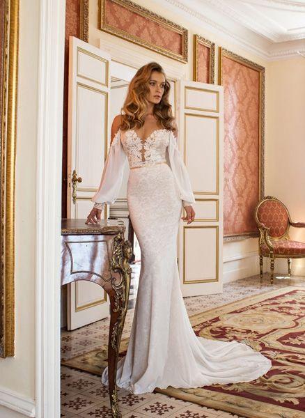 Voluminöse Tüllkleider, romantische Spitze und tiefe Rückenausschnitte ? Diesen Hochzeitskleidern geben wir 2015 das Jawort.
