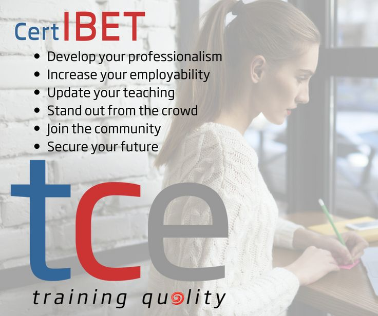 6 reasons to take the Online or Blended CertIBET with The Consultants-E. Find out more: http://www.theconsultants-e.com/trainingonline/certibet/certibetintro.php and http://www.theconsultants-e.com/trainingonline/blendedcertibet/blendedcertibetintro.php