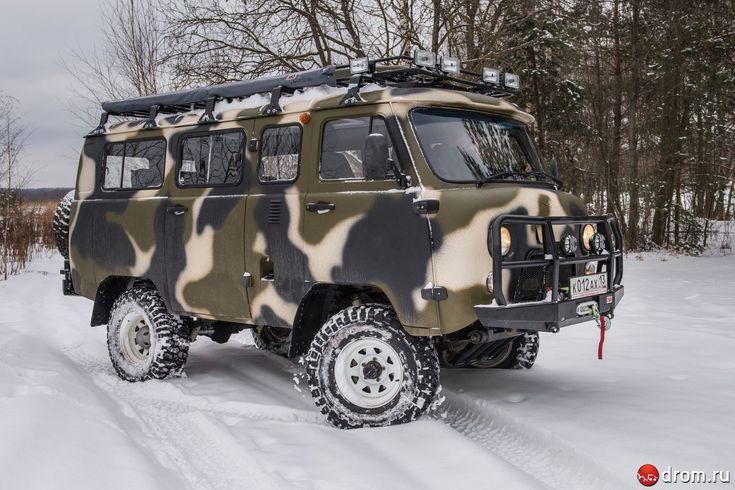 Тюнинг микроавтобуса УАЗ. Охотничий домик из старой «буханки»
