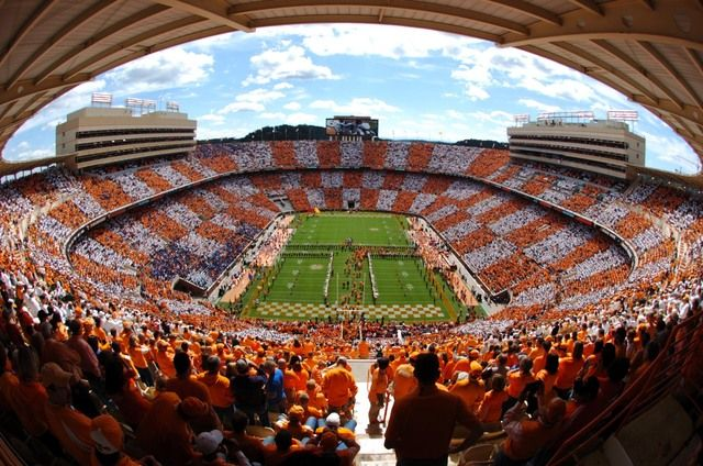 Tennessee's tradition of running through the T has been named of the top 10 best entrances in college football.