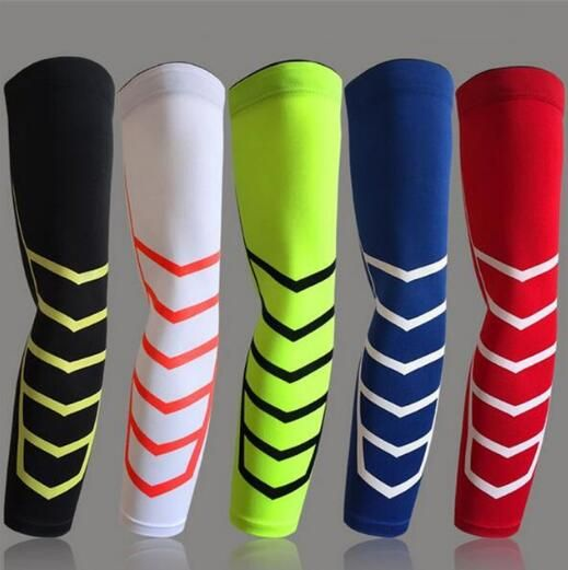 1 Pair Basketball Football Leg Shin Guards Soccer Protective Calf Sleeves Cycling Fitness calcetines Compresion Running