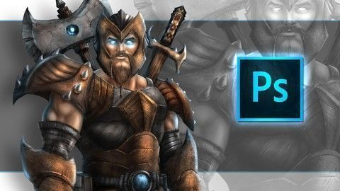 Udemy Online Courses: Digital #Painting In #Photoshop : Create Amazing Concept Art #onlineartcourses