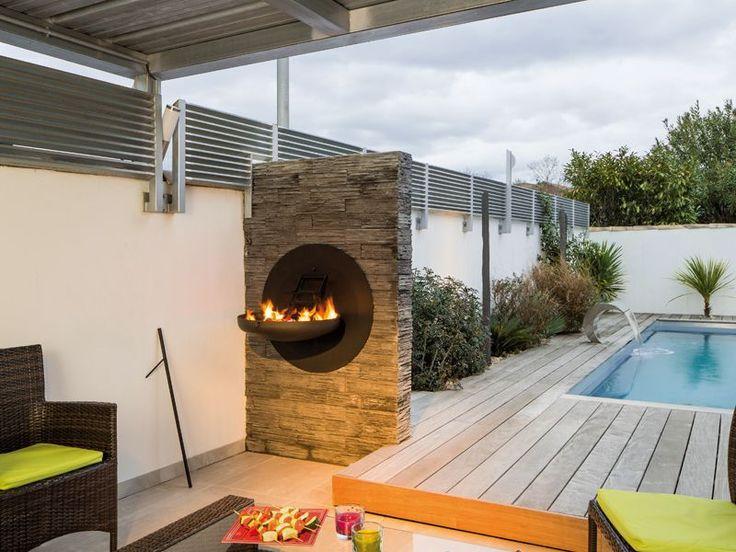 1000 id es sur le th me barbecue design sur pinterest for Barbecue fixe exterieur design