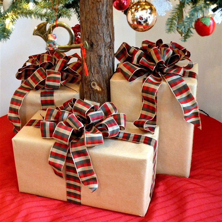 How To Make Big Fluffy Package Bows Recipe Gift Wrapping Bows Christmas Gift Bow Bows For