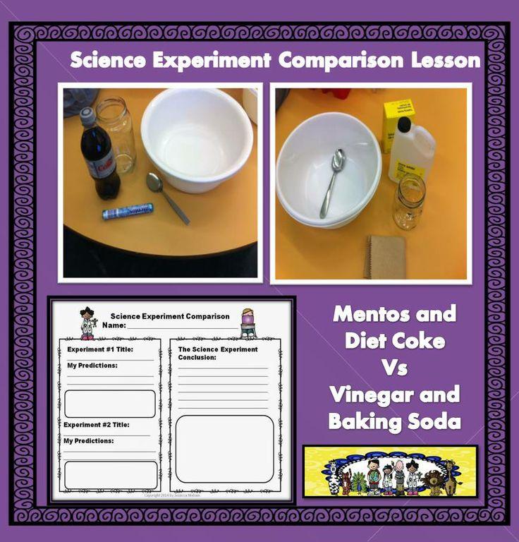 Science Experiement Comparison Lesson