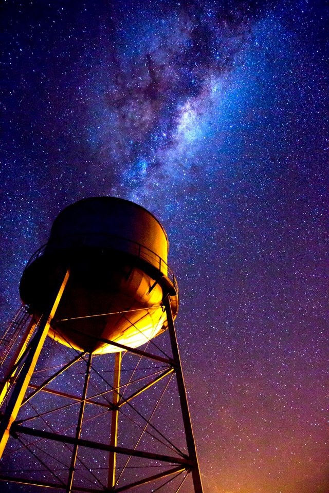 BIG starry skies over Wyalong - New South Wales - Australia - photo by David Haworth