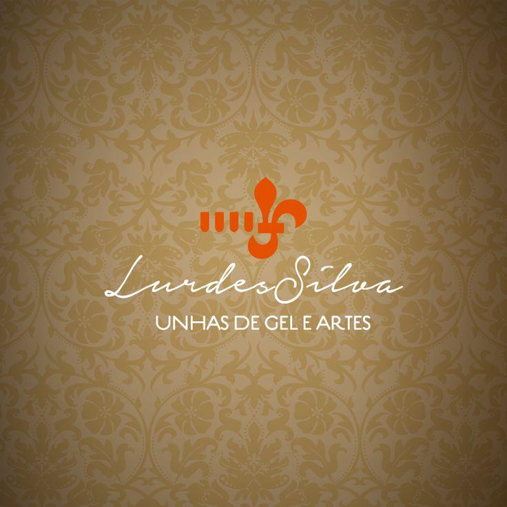 Logótipo criado para Lurdes Silva • Unhas de Gel e Artes