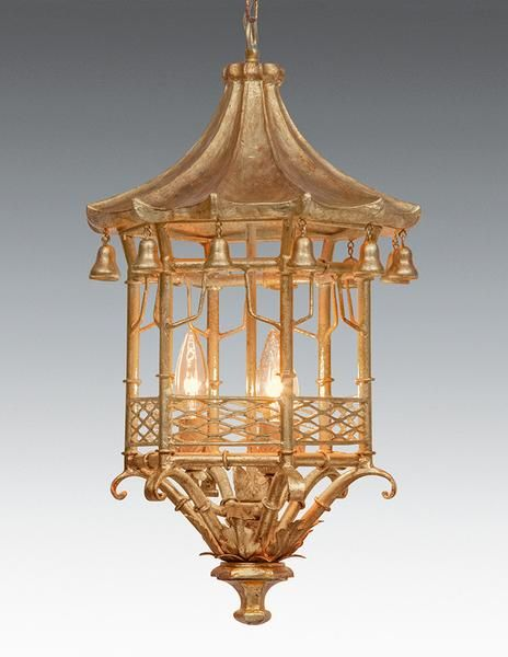 Metal And Wood Pagoda Design Lantern Ll 99a In 2019
