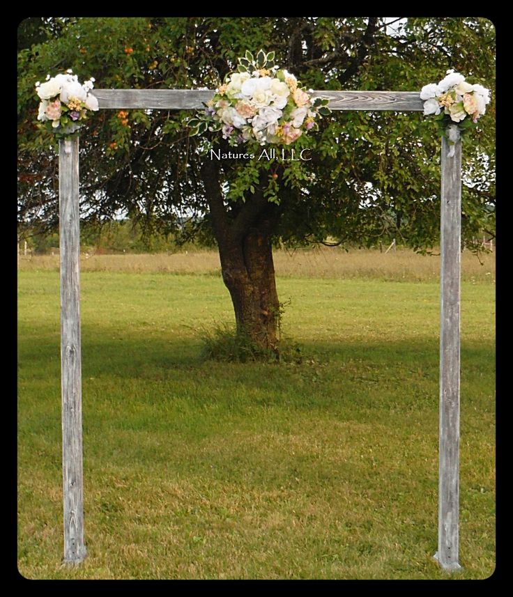 Rustic Outdoor Wedding Arches For Weddings: Wedding Arches, Rustic Wedding Arches And Arches On Pinterest