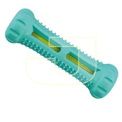 Orta kısımdaki özel file bölüm sayesinde diş temizliğine yardımcı doğal kauçuk köpek oyuncağı bir tık uzağınızda!