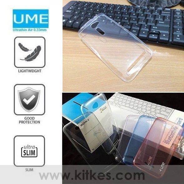 Ume Ultrathin Air Case 0.3mm Asus Zenfone 2 5.0 Inch ZE500ML - Rp 80.000 - kitkes.com