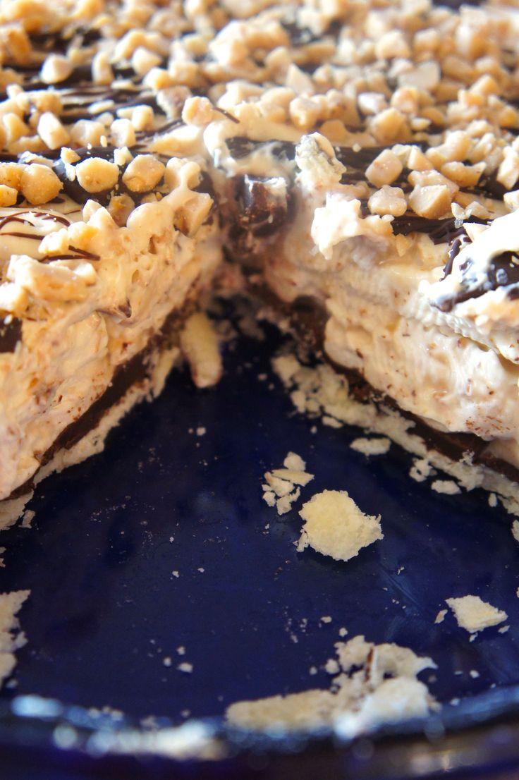 Truffle Toffee Mousse Pie on MyRecipeMagic.com