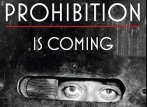 Ken Burns Prohibition! Accompany with speakeasy-style drinks.