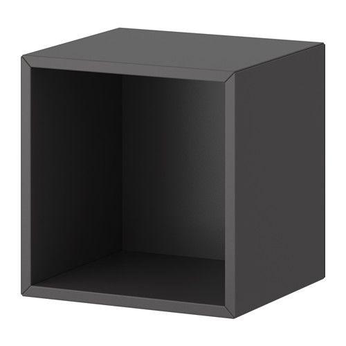VALJE Väggskåp - mörkgrå - IKEA