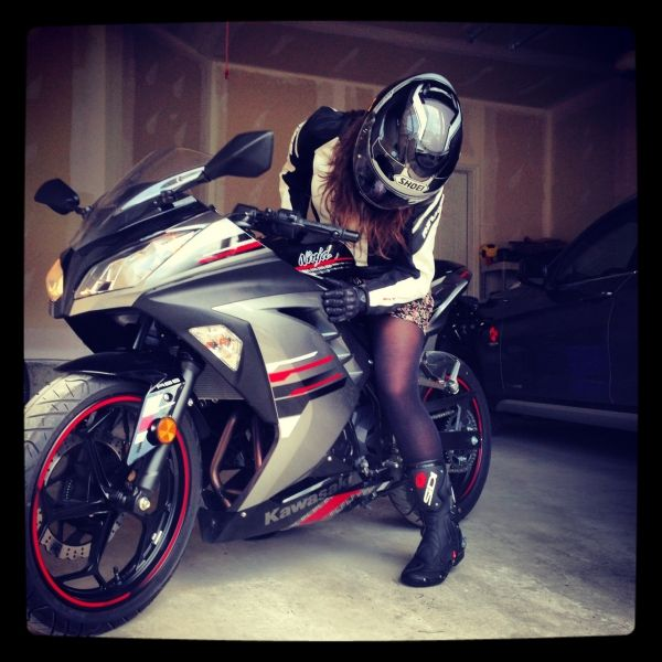 2013 Kawasaki Ninja 300 ABS owned by @Marija http://esr.cc/1uZ5JVI
